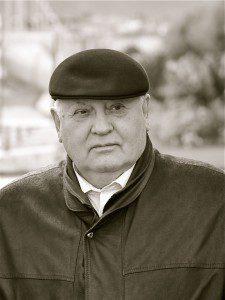 Mikhaïl Gorbatchev à Genève, septembre 2012 - D.R. Luc Hardy