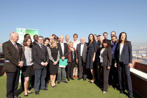 Avec les impliqués Green Cross à Marseille, en mars 2012