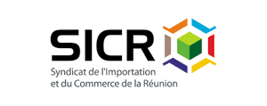 Logo of the Union of Import and Trade of Reunion