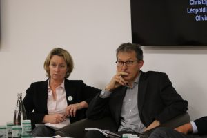 Léopoldine Charbonneaux et Jérôme Mousset, Green Cross France et Territoires à La Française, colloque Filières et territoires au cœur du produit