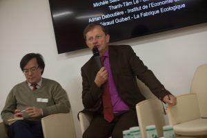 """Géraud Guibert, mise en débat de la note """"Le gaz, un accélérateur de la transition énergétique, GCFT, 18/10"""