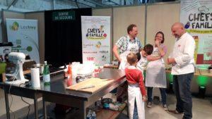 Concours de cuisine en famille organisé par le salon Naturellia et Green Cross France et Territoires - DR